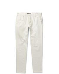 Pantalon chino blanc Ermenegildo Zegna