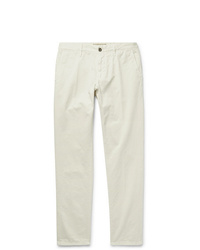 Pantalon chino blanc Incotex
