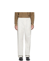Pantalon chino blanc Lemaire