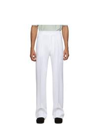 Pantalon chino blanc Random Identities