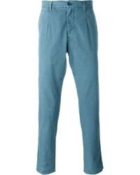 Pantalon chino bleu canard Dolce & Gabbana