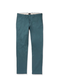 Pantalon chino bleu canard J.Crew