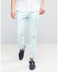 Pantalon chino bleu clair Asos