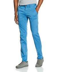 Pantalon chino bleu clair Boss Orange