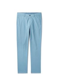 Pantalon chino bleu clair Dunhill