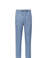Pantalon chino bleu clair Frescobol Carioca