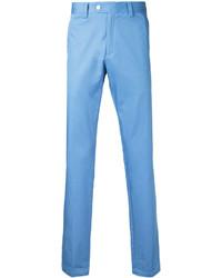 Pantalon chino bleu clair Kent & Curwen