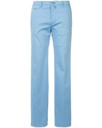 Pantalon chino bleu clair Kiton