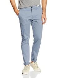 Pantalon chino bleu clair