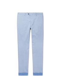 Pantalon chino bleu clair Tod's