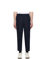 Pantalon chino bleu marine Acne Studios
