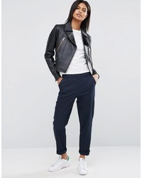 Pantalon chino bleu marine Asos