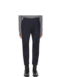 Pantalon chino bleu marine Barena