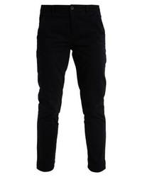 Pantalon chino bleu marine Benetton