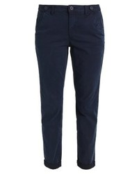 Pantalon chino bleu marine Comma