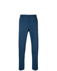 Pantalon chino bleu marine Dolce & Gabbana