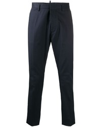 Pantalon chino bleu marine DSQUARED2