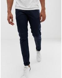 Pantalon chino bleu marine Emporio Armani