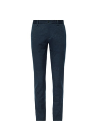 Pantalon chino bleu marine Etro