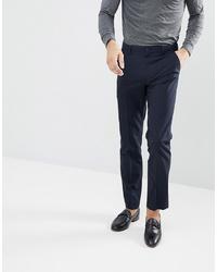 Pantalon chino bleu marine French Connection