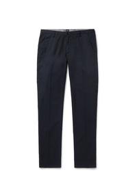 Pantalon chino bleu marine Hugo Boss