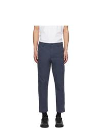 Pantalon chino bleu marine Hugo
