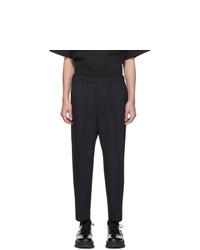 Pantalon chino bleu marine Jil Sander