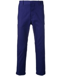 Pantalon chino bleu marine Marni