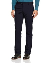 Pantalon chino bleu marine Merc of London