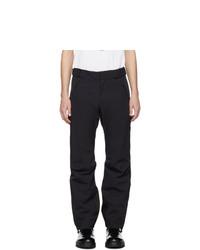 Pantalon chino bleu marine MONCLER GRENOBLE
