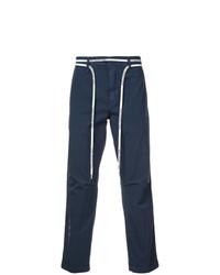 Pantalon chino bleu marine Off-White