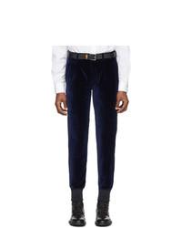Pantalon chino bleu marine Paul Smith