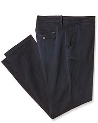 Pantalon chino bleu marine Pepe Jeans