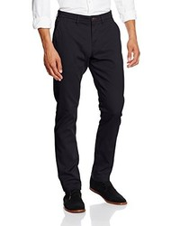 Pantalon chino bleu marine Tom Tailor