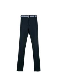 Pantalon chino bleu marine Valentino