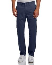 Pantalon chino bleu marine Vans