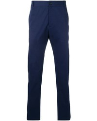 Pantalon chino bleu marine Versace