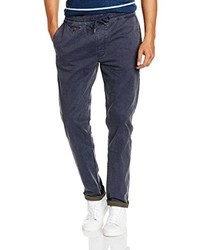 Pantalon chino bleu marine Wrangler