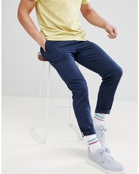 Pantalon chino bleu marine YOURTURN