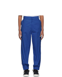 Pantalon chino bleu Moncler Genius
