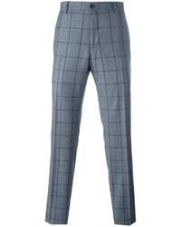 Pantalon chino bleu Salvatore Ferragamo