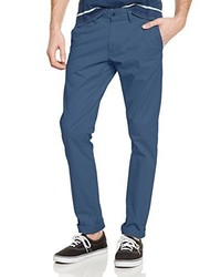 Pantalon chino bleu Teddy Smith