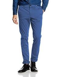 Pantalon chino bleu Tommy Hilfiger
