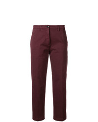 Pantalon chino bordeaux Department 5