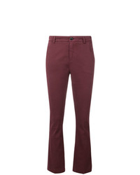 Pantalon chino bordeaux Department 5