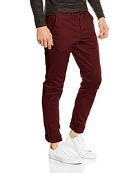 Pantalon chino bordeaux Jack & Jones