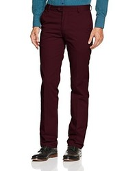 Pantalon chino bordeaux Merc of London
