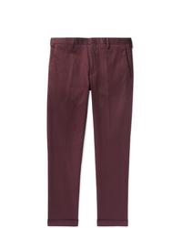 Pantalon chino bordeaux Paul Smith