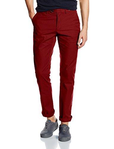 Pantalon chino bordeaux Tommy Hilfiger