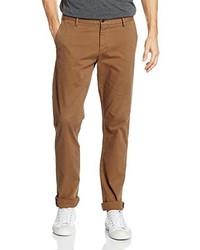 Pantalon chino brun clair Dockers